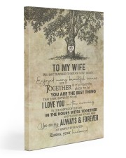 Wife - Tree - We Have Traveled Through Many Roads 20x30 Gallery Wrapped Canvas Prints front
