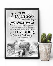 TO MY FIANCE'E - DEER - THE DAY I MET YOU 16x24 Poster lifestyle-poster-8