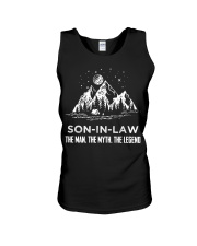 SON-IN-LAW - CAMPING - THE MAN THE MYTH Unisex Tank thumbnail