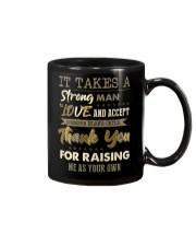 MUG - TO MY BONUS DAD - THANK YOU Mug front