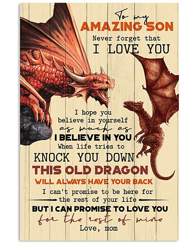 TO MY SON - FIRE DRAGON - OLD DRAGON