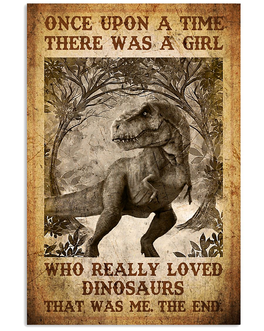 Saurus - T rex - Once Upon A Time - Poster 16x24 Poster