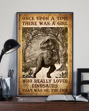 Saurus - T rex - Once Upon A Time - Poster 16x24 Poster lifestyle-poster-2