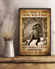 Saurus - T rex - Once Upon A Time - Poster 16x24 Poster lifestyle-poster-3