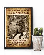 Saurus - T rex - Once Upon A Time - Poster 16x24 Poster lifestyle-poster-8