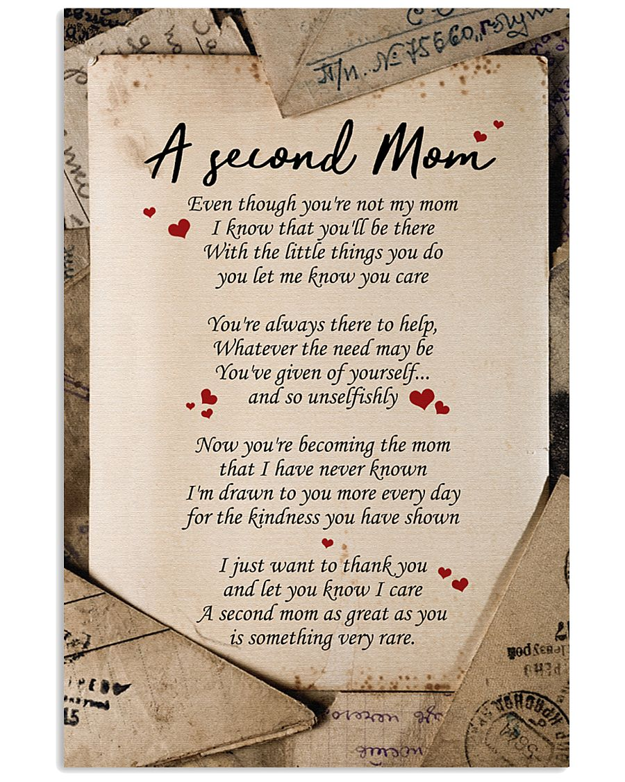A SECOND MOM 16x24 Poster