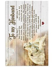 HUSBAND - LION - I LOVE YOU THEN NOW FOREVER 16x24 Poster front