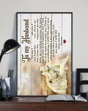 HUSBAND - LION - I LOVE YOU THEN NOW FOREVER 16x24 Poster lifestyle-poster-2