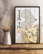 HUSBAND - LION - I LOVE YOU THEN NOW FOREVER 16x24 Poster lifestyle-poster-3