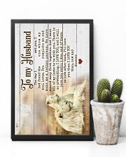 HUSBAND - LION - I LOVE YOU THEN NOW FOREVER 16x24 Poster lifestyle-poster-8