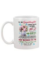 Grandma to Granddaughter - You Mean The World  Mug back