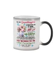 Grandma to Granddaughter - You Mean The World  Color Changing Mug thumbnail