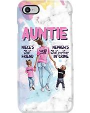 Auntie - Niece and Nephew - Phonecase Phone Case i-phone-8-case