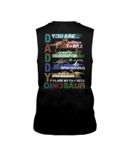 TO DAD - VINTAGE STYLE - FAVORITE DINOSAUR Sleeveless Tee thumbnail
