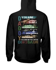 TO DAD - VINTAGE STYLE - FAVORITE DINOSAUR Hooded Sweatshirt thumbnail