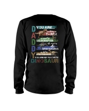 TO DAD - VINTAGE STYLE - FAVORITE DINOSAUR Long Sleeve Tee thumbnail