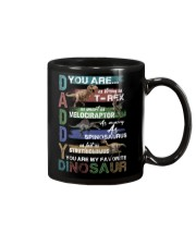 TO DAD - VINTAGE STYLE - FAVORITE DINOSAUR Mug tile