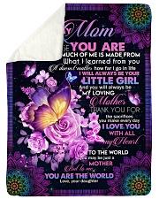 """To My Mom - Fleece Blanket Large Sherpa Fleece Blanket - 60"""" x 80"""" thumbnail"""