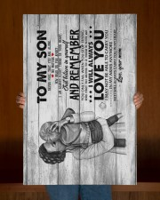 Mom to Son - Hugging - Never Feel That You Are  20x30 Gallery Wrapped Canvas Prints aos-canvas-pgw-20x30-lifestyle-front-22