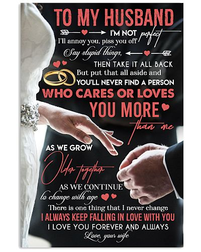 TO MY HUSBAND - RING - I LOVE YOU