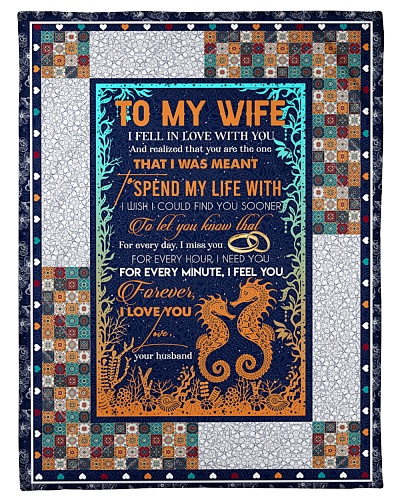 TO MY WIFE - HIPPOCAMPUS - I LOVE YOU