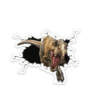 T-rex - Cracker - Sticker Sticker - Single (Horizontal) front
