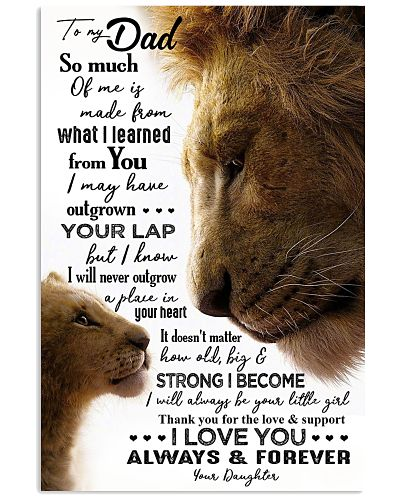 POSTER - TO MY FATHER - LION - SO MUCH OF ME