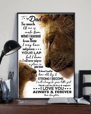 POSTER - TO MY FATHER - LION - SO MUCH OF ME 16x24 Poster lifestyle-poster-2
