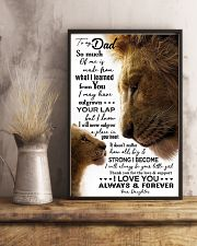 POSTER - TO MY FATHER - LION - SO MUCH OF ME 16x24 Poster lifestyle-poster-3
