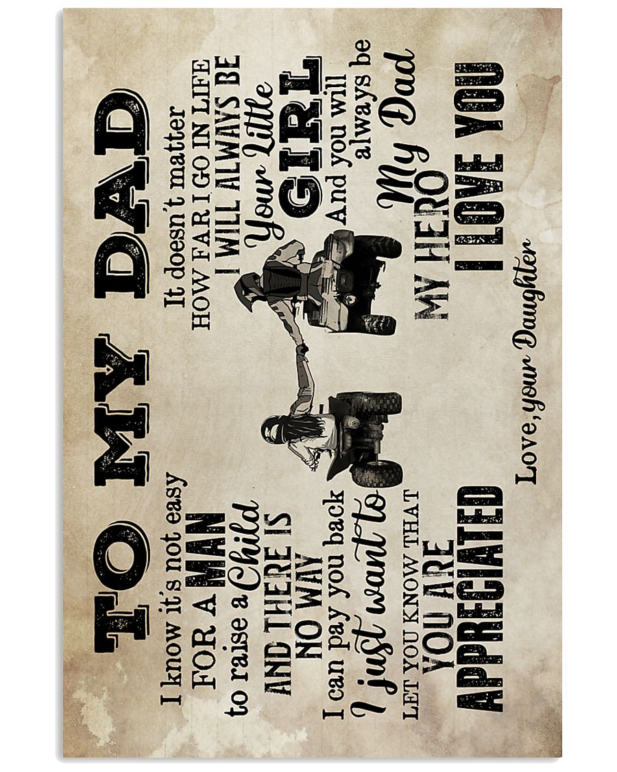 To My Dad - ATV - Poster  16x24 Poster