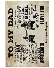 To My Dad - ATV - Poster  16x24 Poster front