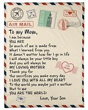 "Gifts for Mom - Fleece Blanket  Small Fleece Blanket - 30"" x 40"" front"