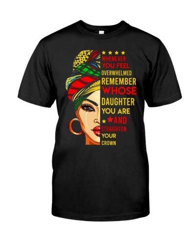 TO DAUGHTER - BLACK GIRL - CROWN