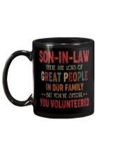 MUG - SON-IN-LAW - VINTAGE - YOU VOLUNTEERED Mug back