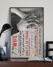 TO MY WIFE - HANH IN HAND - I LOVE YOU 16x24 Poster lifestyle-poster-2