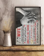 TO MY WIFE - HANH IN HAND - I LOVE YOU 16x24 Poster lifestyle-poster-3