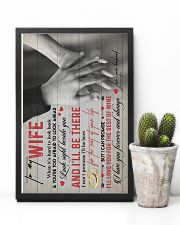 TO MY WIFE - HANH IN HAND - I LOVE YOU 16x24 Poster lifestyle-poster-8