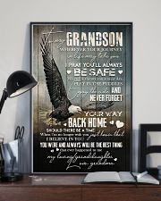 Grandma to Grandson - Never Forget Your Way  16x24 Poster lifestyle-poster-2