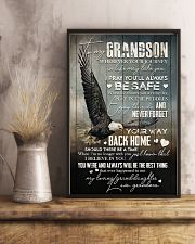 Grandma to Grandson - Never Forget Your Way  16x24 Poster lifestyle-poster-3