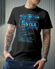 Brother - I Have A Crazy Sister - T-Shirt Classic T-Shirt lifestyle-mens-crewneck-front-6