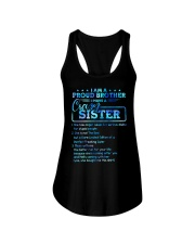 Brother - I Have A Crazy Sister - T-Shirt Ladies Flowy Tank thumbnail