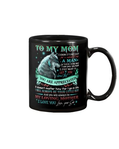 TO MY MOM - WOLF - MY HERO