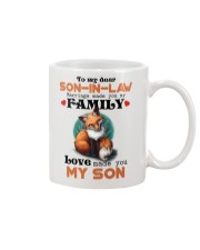 TO MY SON-IN-LAW - FOX - LOVE MADE YOU MY SON Mug front
