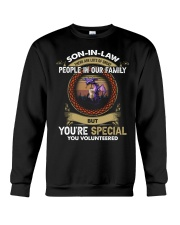 SON-IN-LAW - DRAGON - VINTAGE - YOU VOLUNTEERED Crewneck Sweatshirt thumbnail