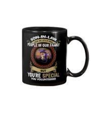 SON-IN-LAW - DRAGON - VINTAGE - YOU VOLUNTEERED Mug thumbnail