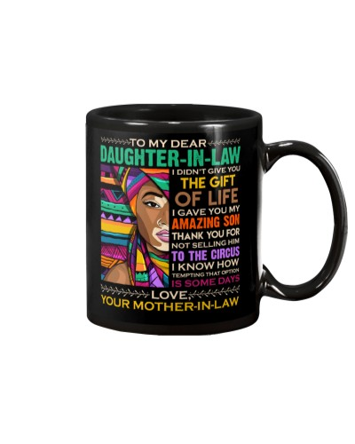 TO MY DAUGHTER-IN-LAW - AFRICAN WOMAN - CIRCUS