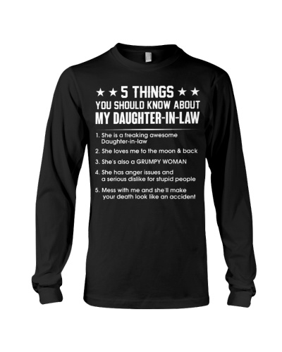 5 things You should know about My daughter-in-law