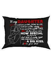 Dad To Daughter - Hugging - If I Could Give Rectangular Pillowcase front