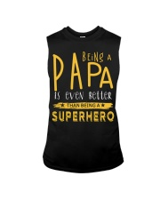 BEING A PAPA IS EVEN BETTER THAN BEING SUPERHERO Sleeveless Tee tile