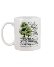 MUG - TO MY MOTHER-IN-LAW - TREE - ALL THE WHILE Mug back
